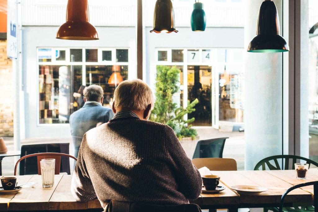 kopi untuk lansia